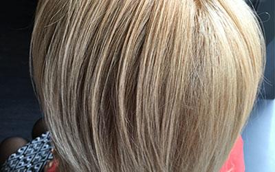 Coloration naturelle pour les cheveux blancs